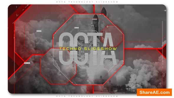 Videohive Octa Technology Slideshow | Opener