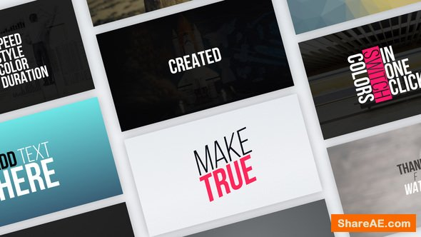 Videohive Typography Vol.1