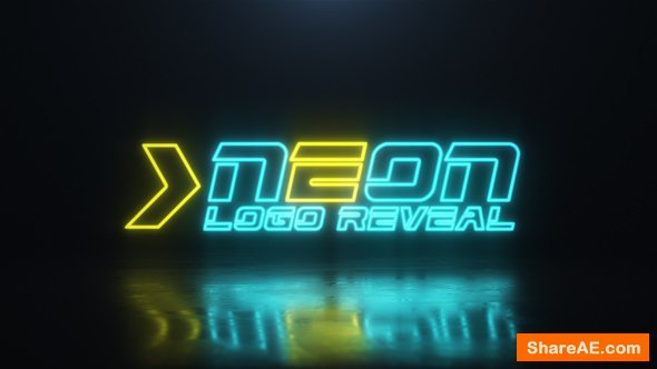 Videohive Neon Logo