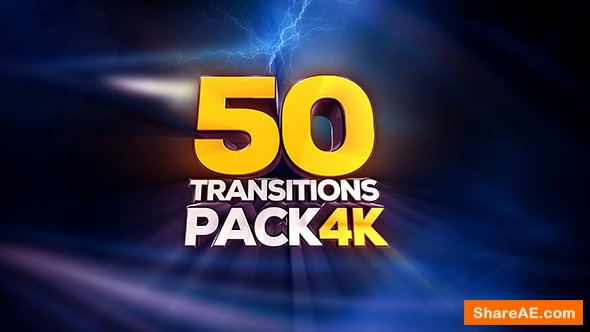 Videohive Transitions Pack - 4K - Motion Graphics
