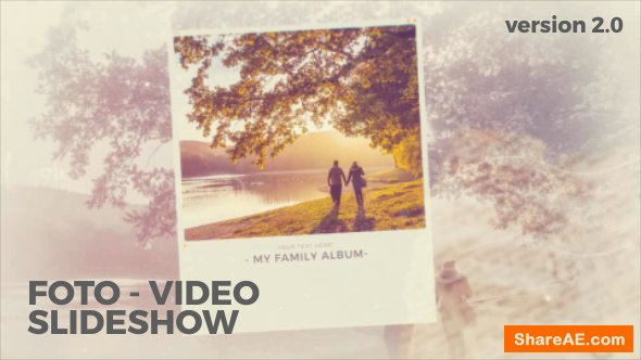 Videohive My family album v.2