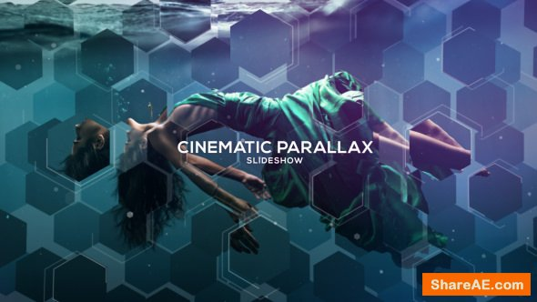 Videohive Cinematic Parallax Slideshow 19519021