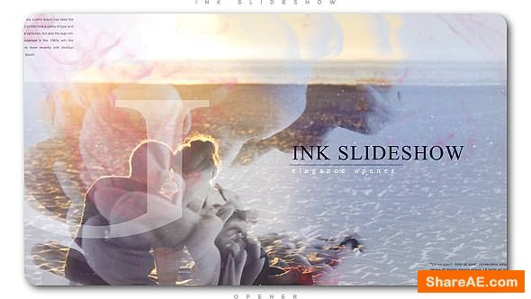 Videohive Elegance Ink Slideshow