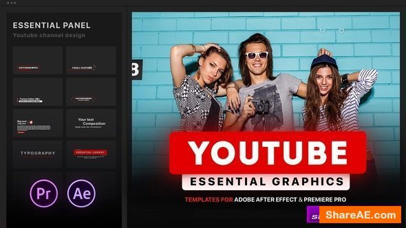 Videohive Youtube Essential Library