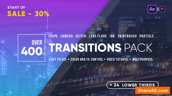 Videohive Transitions 21861548