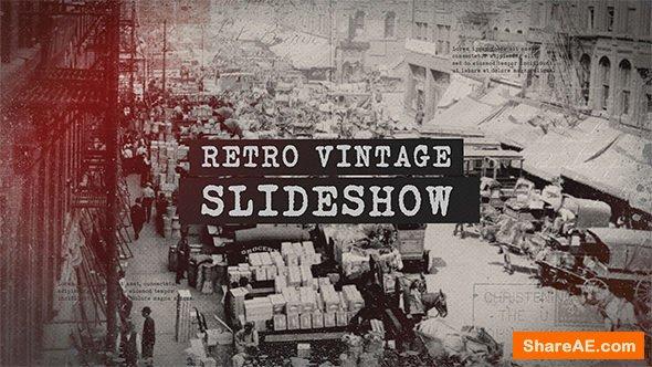 Videohive Retro Vintage Slideshow