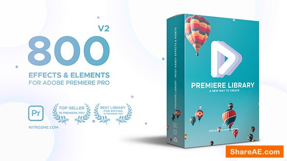 Videohive Premiere Library - Most Handy Effects - Premiere Pro Presets