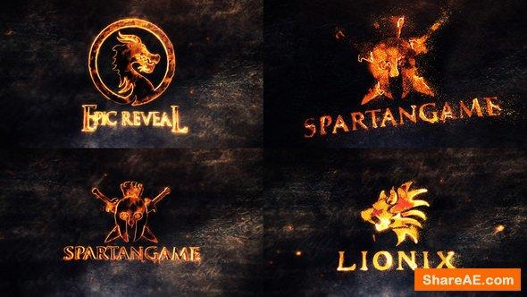 Videohive Epic Legendary Logo Reveals