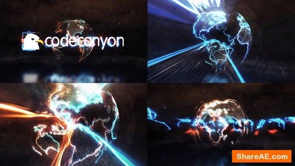 Videohive Energy Earth Logo Reveal