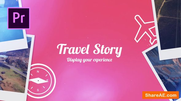 Videohive Travel Story - Premiere Pro Templates