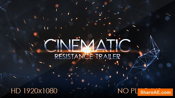 Videohive Resistance Cinematic Trailer