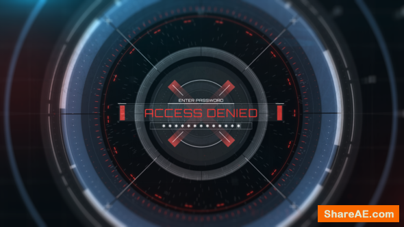 Videohive HUD Access Logo Reveal