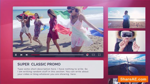 Videohive Youtube Promo