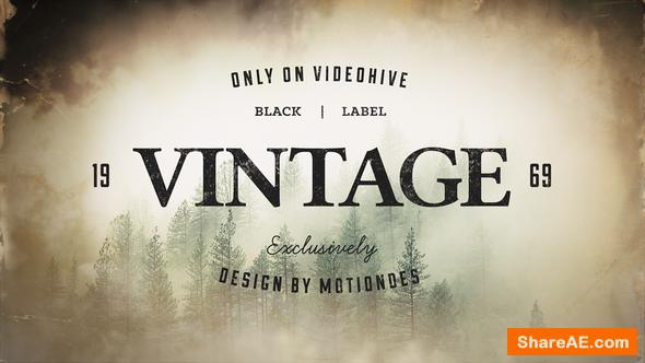 Videohive Vintage Opener 3
