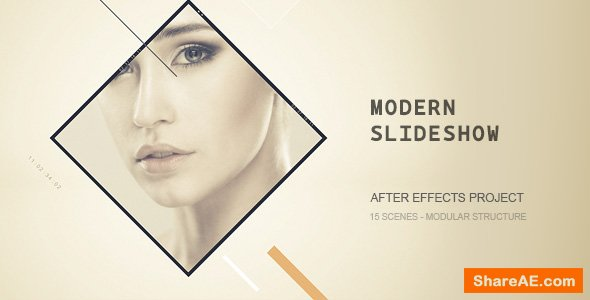 Videohive Modern Slideshow 19568859