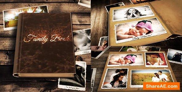 Videohive Family Book