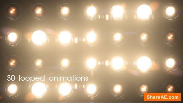 Videohive Lights Flashing - Motion Graphics