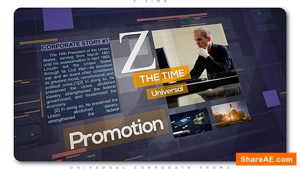 Videohive Z Time | Universal Corporate Promo