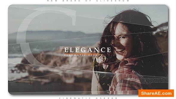 Videohive Elegance Cinematic Opener | Slideshow