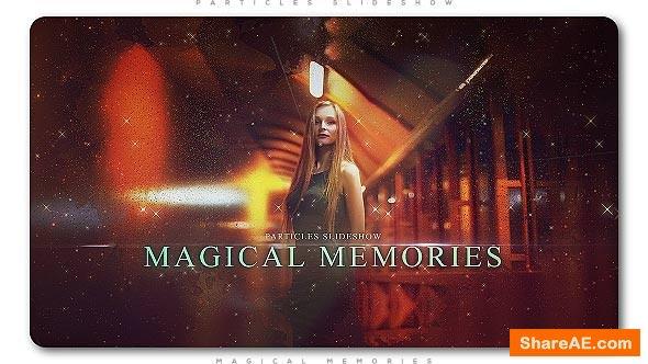 Videohive Particles Slideshow Magical Memories