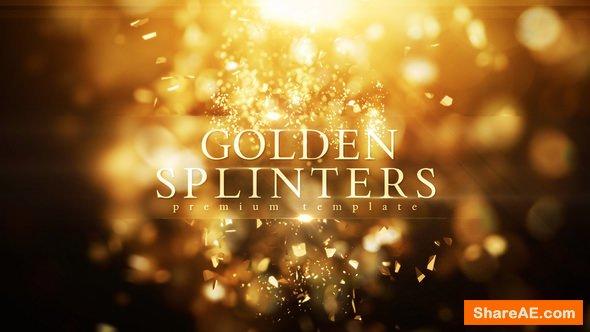 Videohive Golden Splinters
