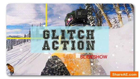 Videohive Glitch Action Slideshow