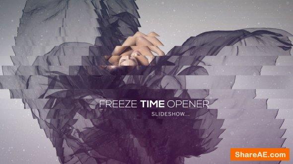 Videohive Freeze Time Opener - Slideshow
