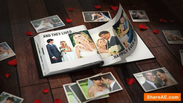 Videohive The Photo Album for Element 3D