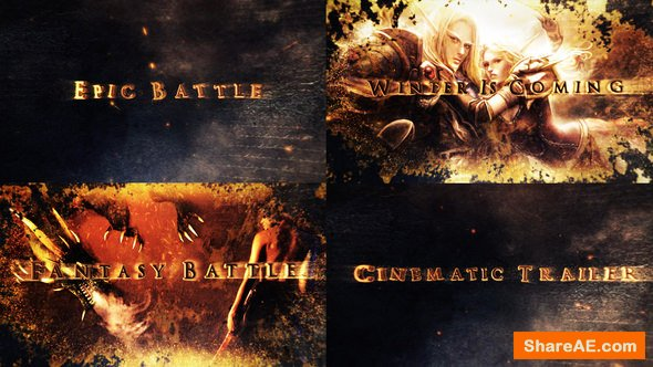 Videohive Legendary Epic Fantasy Intro