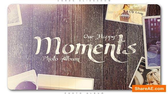 Videohive Happy Moments Slideshow