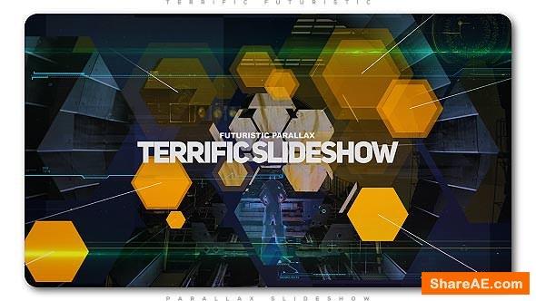 Videohive Terrific Futuristic Slideshow