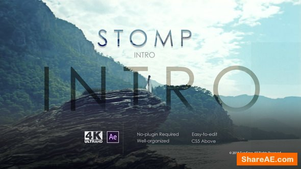 Videohive Stomp Intro