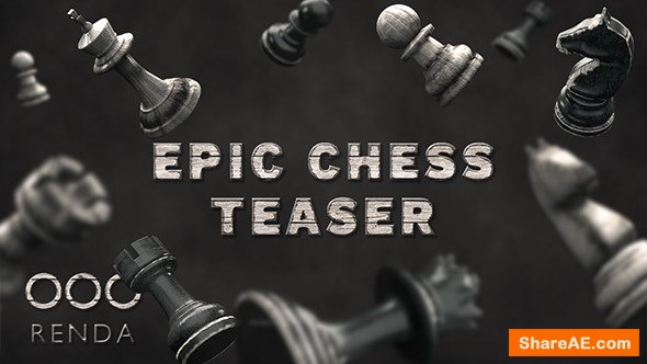 Videohive Epic Chess Teaser