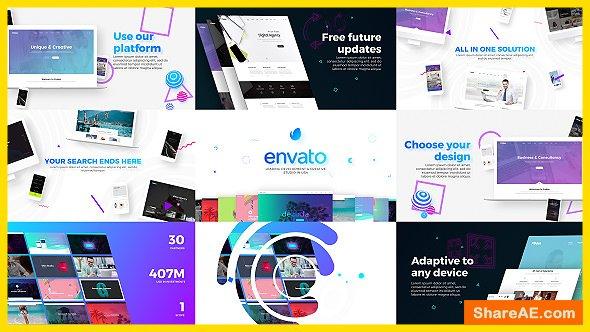 Videohive Website / Design & Development Agency Presentation