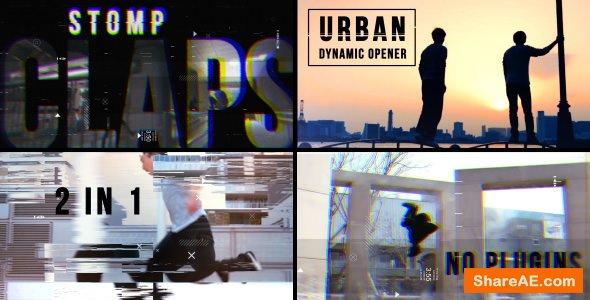 Videohive Urban Dynamic Opener