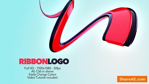 Videohive Ribbon Logo