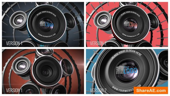 Videohive Photography Lens Logo 2