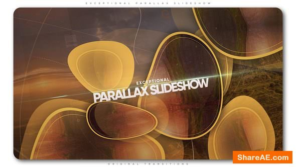 Videohive Exceptional Parallax Slideshow