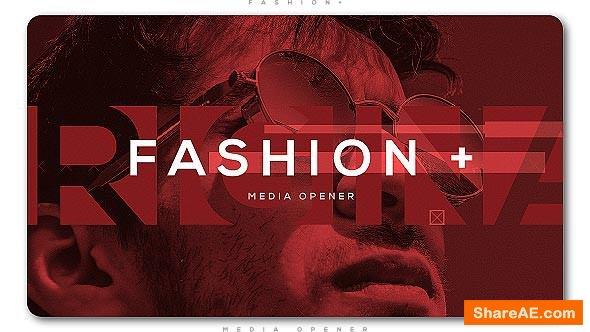 Videohive Fashion Plus Media Opener