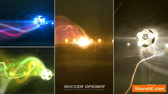 Videohive Soccer Opener - Premiere Pro