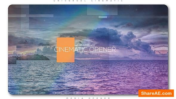 Videohive Universal Cinematic Opener