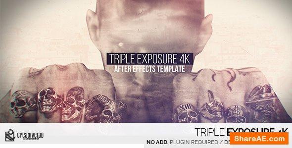 Videohive Triple Exposure 4K