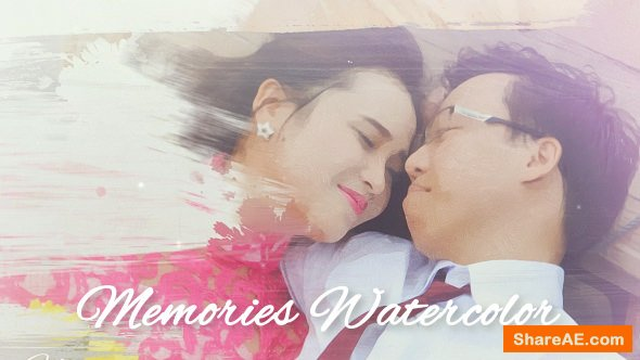 Videohive Memories Watercolor
