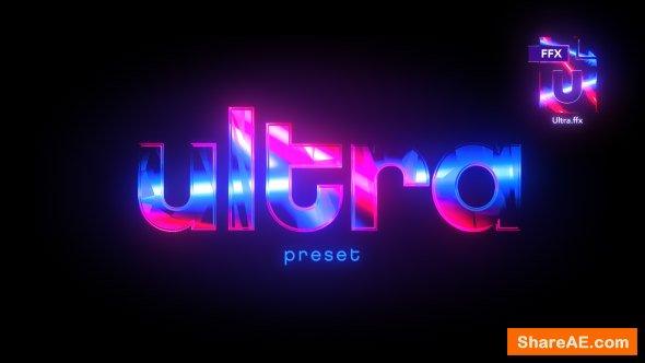 Videohive Ultra Preset