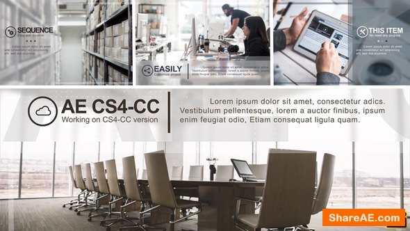 Videohive Minimal Corporate Presentation