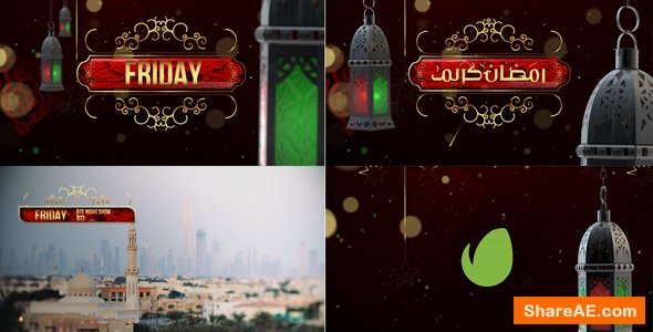 Videohive Ramadan Broadcast Packaging