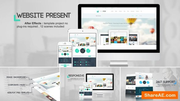 Videohive Website Presentation 19589549