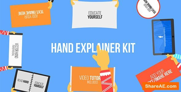 Videohive Hand Explainer Kit