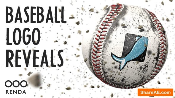 Videohive Baseball Logo Reveals
