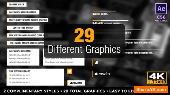 Videohive Newsworthy Titles and Lower Thirds